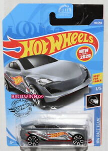 2020 Hot Wheels case P #192 HW Race Team Grand Cross silver