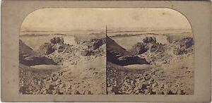 Egitto Vintage Stereo Frith Albumina Ca 1860
