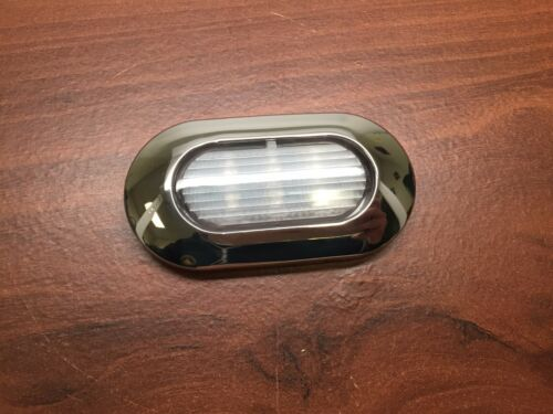 Pactrade Marine 4pcs Blue LED Light SS304 Housing Surface Mount 12V IP67 6LED