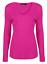 Womens-Ladies-Girls-Plain-Long-Sleeve-V-NECK-T-Shirt-Top-Plus-Size-Tops-Shirt thumbnail 13
