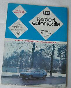 2019 DernièRe Conception Revue Technique L'expert Automobile N° 173 1981 Fiat Ritmo Diesel (l-cl) Nous Avons Gagné Les éLoges Des Clients