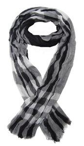 Foulard-cheche-echarpe-pour-homme-noir-et-gris-dominant-180-x-60-cm
