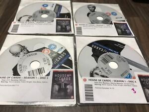 House-of-Cards-Series-1-Complete-DVD-2013-4-Disc-Set-Box-Set-DISKS-ONLY