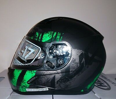 HJC CL-17 Arica Mens Snowmobile Helmet With electric Shield X-Large MC-5SF