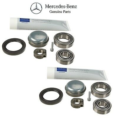 Mercedes R171 W203 W209 SLK280 SLK300 E350 Front Set 2 Genuine Wheel Bearing KIT