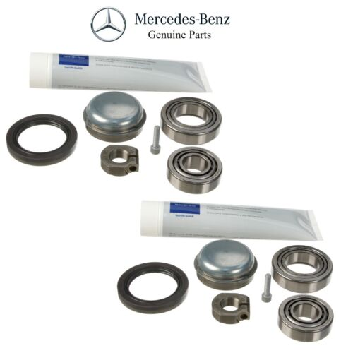 For Mercedes A209 C209 R171 W203 Pair Set of 2 Front Wheel Bearing Kits Genuine