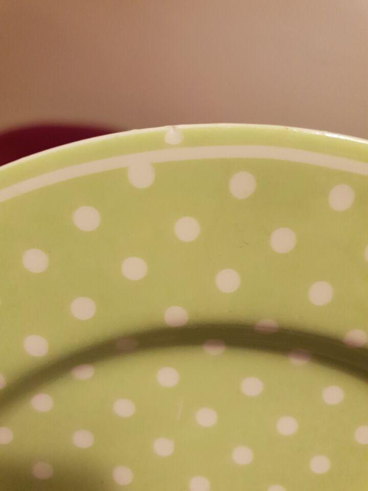 Porcelæn, Kopper, desserttallerkner