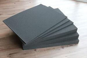 3x-Rasterschaumstoff-Wuerfelschaumstoff-Fotokoffer-500x400x40mm-incl-Bodenplatten