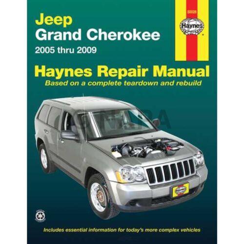 Repair Manual-GAS NAPA//BALKAMP-BK 7993333 fits 05-10 Jeep Grand Cherokee