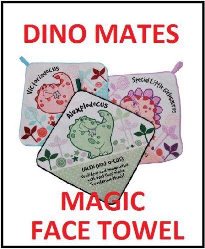 Names M History /& Heraldry Dino Mates Magic Face Towel N