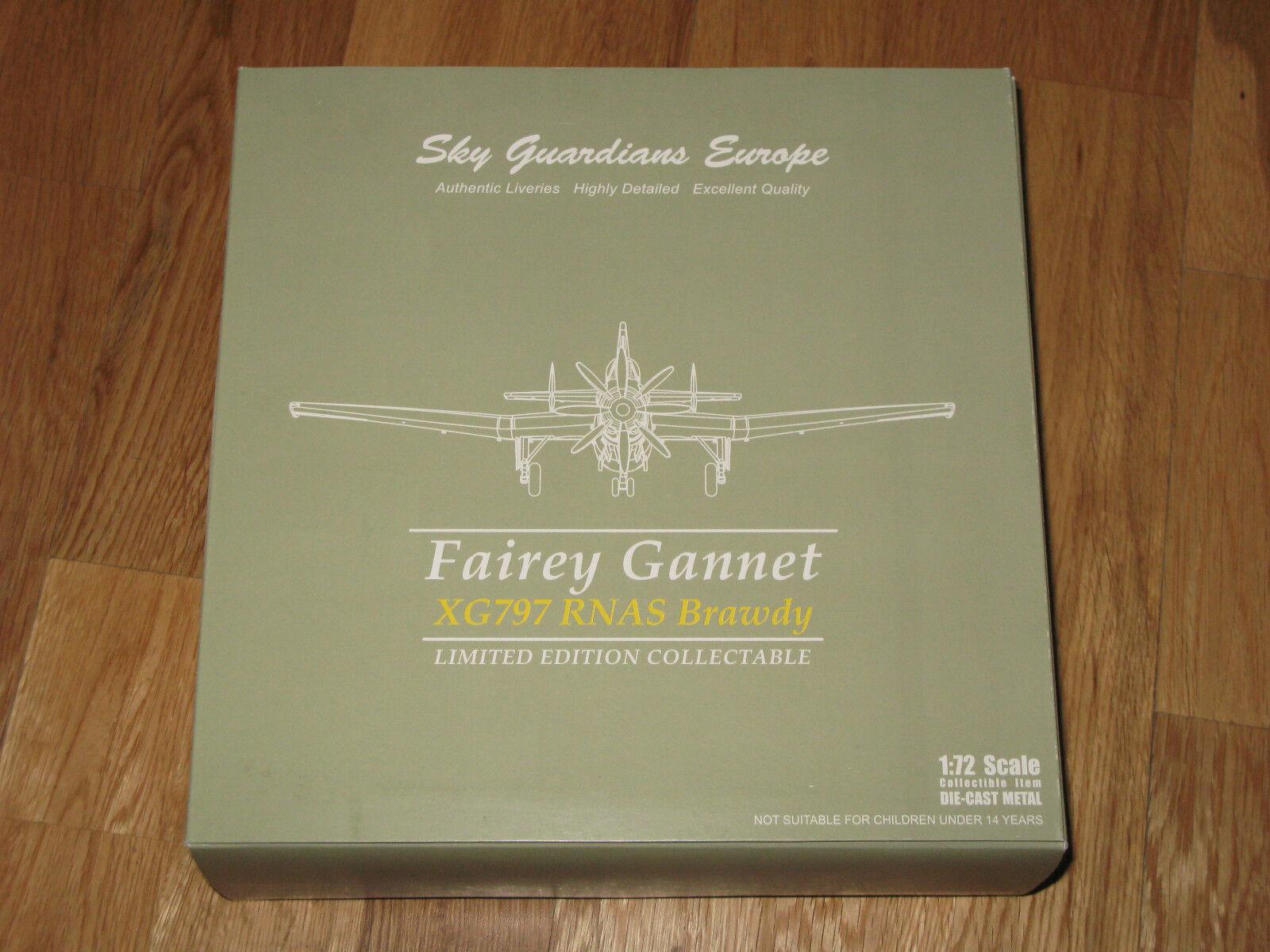 SKY GUARDIANS Fairey Gannet XG797 RNAS Brawdy SGE72-002-01 En parfait état, dans sa boîte