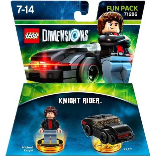 BRAND NEW SEALED LEGO DIMENSIONS KNIGHT RIDER 71286 MICHAEL KNIGHT AND KITT CAR