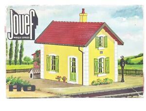 SCARCE-UNMADE-JOUEF-1980-HO-GAUGE-KIT-RAILWAY-CROSSING-GATEKEEPERS-HOUSE