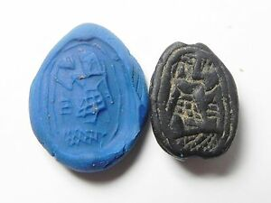 Zurqieh Ancient Egypt af319 Middle Kingdom Stone Scarab.