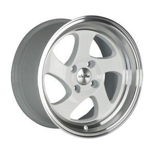 16x8 20 Whistler Kr1 4x100 White Wheel Fit Mini Cooper S Jcw John