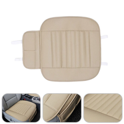 3D Universal 1pc Car Auto PU Leather Breathable Seat Cover Front All Season Set