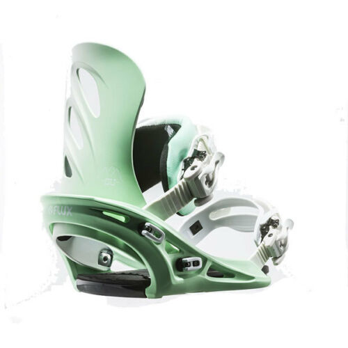 Flux Winter 201617 GU Women's Snowboard Bindings Green