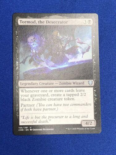 THE DESECRATOR Commander Legendary Magic Mtg EDH X4 TORMOD