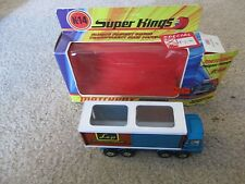 Matchbox Super-Kings K-14 Scammell Freight Liner Die-Cast Nice With Box 1971