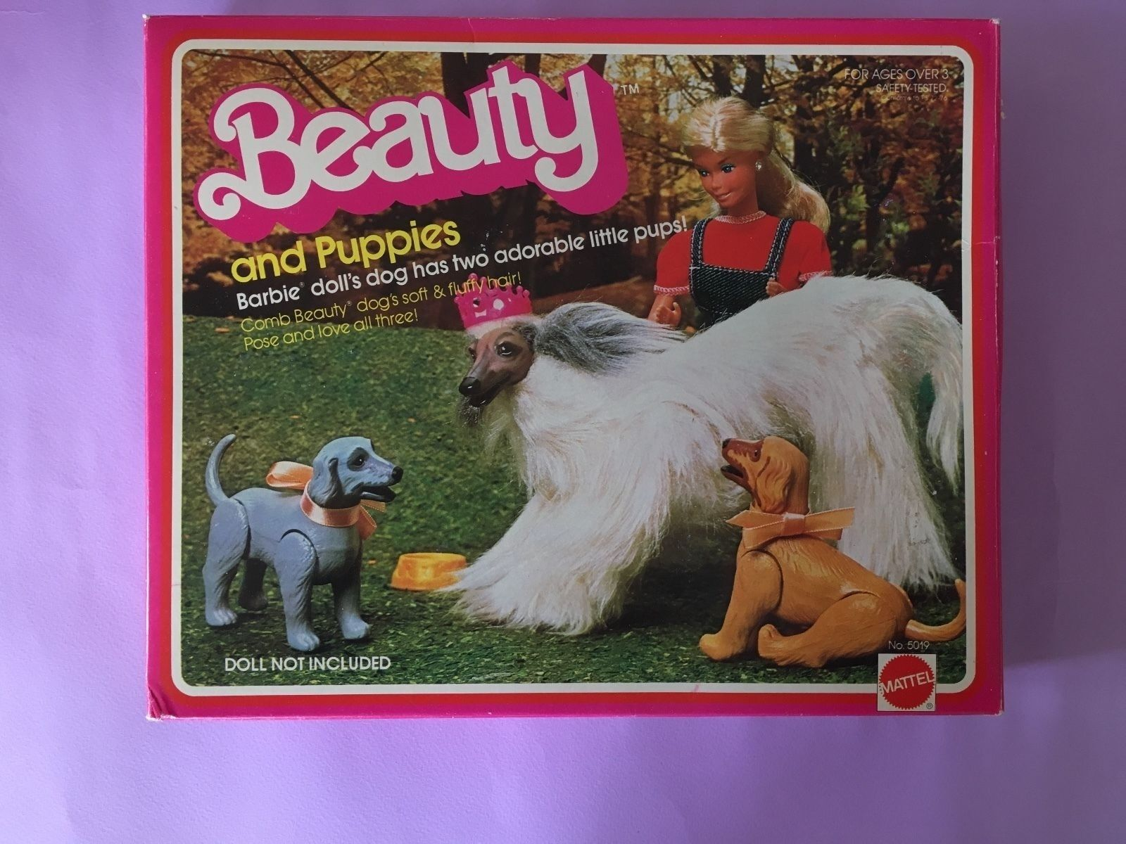 Barbie Dog 1981 - Beauty and Puppies NIB REF.5019