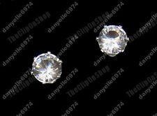 A Clip Magnetica Zirconi 6mm Diamante Orecchini