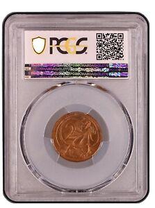 1967-Australian-Decimal-2-Cent-No-SD-Variety-PCGS-Grade-Uncirculated-MS62RB