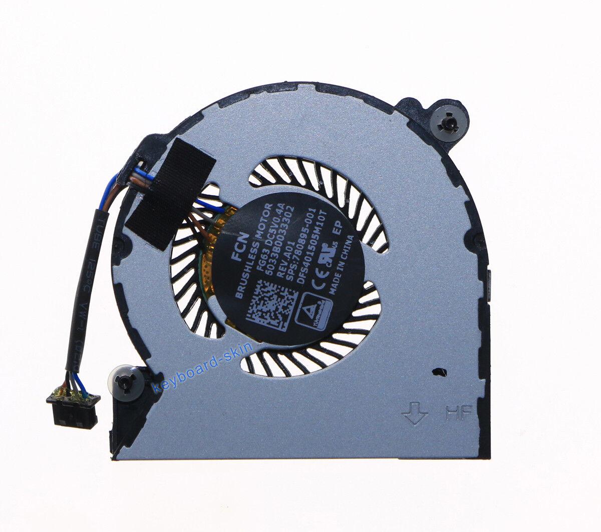 New for HP 820 G1 720 G1 Laptop CPU Fan 730547-001 6033B0033301 KSB0405HB-CM46