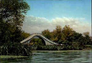 BRUCKEN-Motiv-AK-Bruecke-Bridge-in-CHINA-Jade-Belt-Bridge-color-Postcard-Asia
