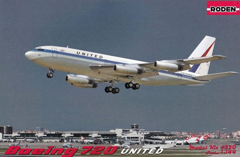 1 144 RODEN 320 Boeing 720 United