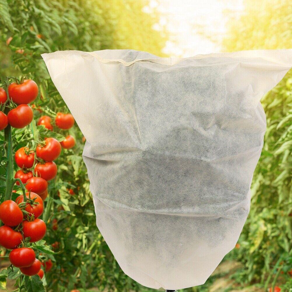 3x Medium Frost Protection Jacket Plant Warming Fleece Winter Cover 80cm x 100cm