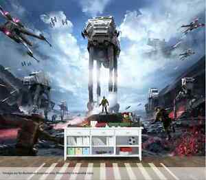 Star Wars Battlefront Wall Art Wall Mural Quality Pastable Wallpaper