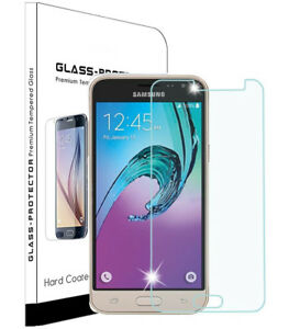 Fit Samsung Galaxy J3 Luna Pro Prime Emerge 2017 Screen Protector Tempered Glass