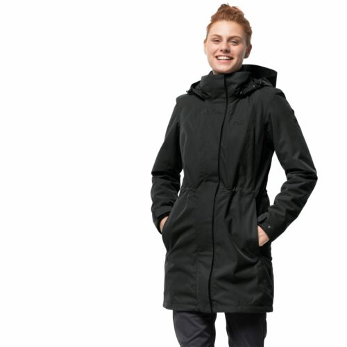 Jack Wolfskin OTTAWA capa mujer invierno abrigo chaqueta parka Outdorjacke