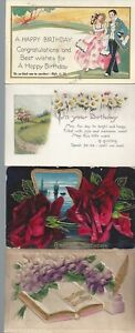 Vintage-Assorted-Postcards-Circa-1800-039-s-1900-039-s-Lot-of-5