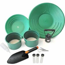 Screen & Gold Panning Kit with Mini  Classifiers and Much More