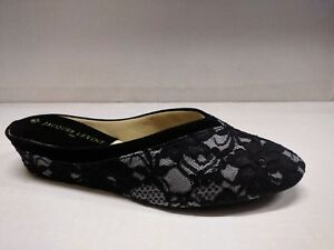 2df81b3f6950ad JACQUES LEVINE WOMEN S  4640 LACE INDOOR HOUSE SLIPPERS MADE IN ...