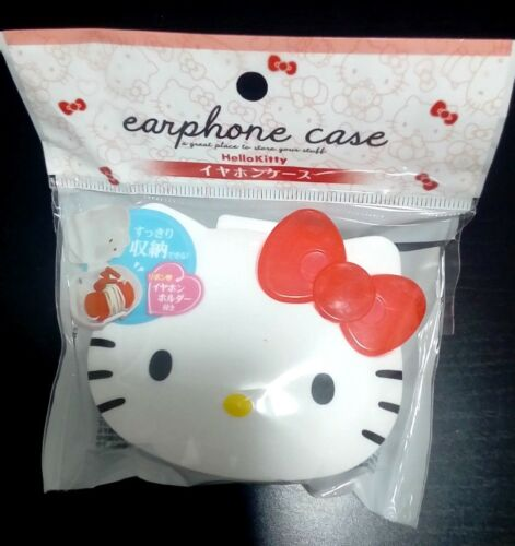 SANRIO Hello Kitty Cute Earbuds Earphones In-Ear Headphones Case Sale