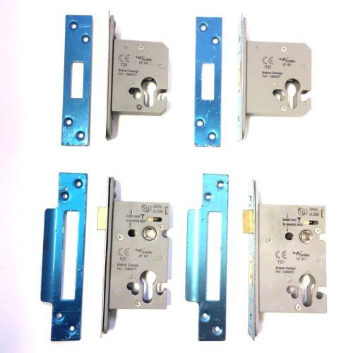 Eurospec Euro Profile Deadlock /& Sashlock Stainless Lock EasiT-CE-Fire Rated