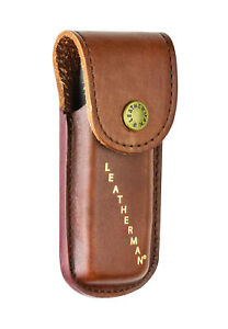 Details zu Leatherman Leather Case Sheath Pouch for Rebar Sidekick Wingman Rev Brow