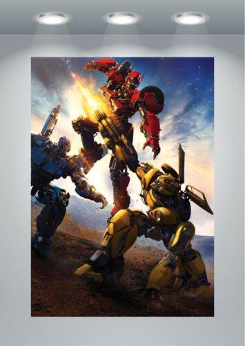 Bumblebee Movie Large Poster Art Print A0 A1 A2 A3 A4 Maxi