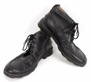Mens-Florsheim-Black-Leather-Chukka-Boot-13-M