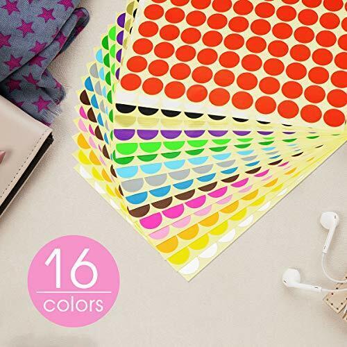 klebepunktemarkierungspunkte, Farbcodierung ... klebepunkte bunt Aufkleber Farb