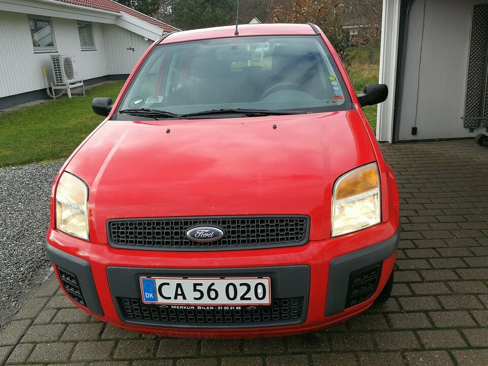 Ford Fusion, 1,4 TDCi Ambiente, Diesel