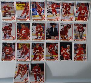 1990-91-Upper-Deck-UD-Calgary-Flames-Team-Set-of-20-Hockey-Cards
