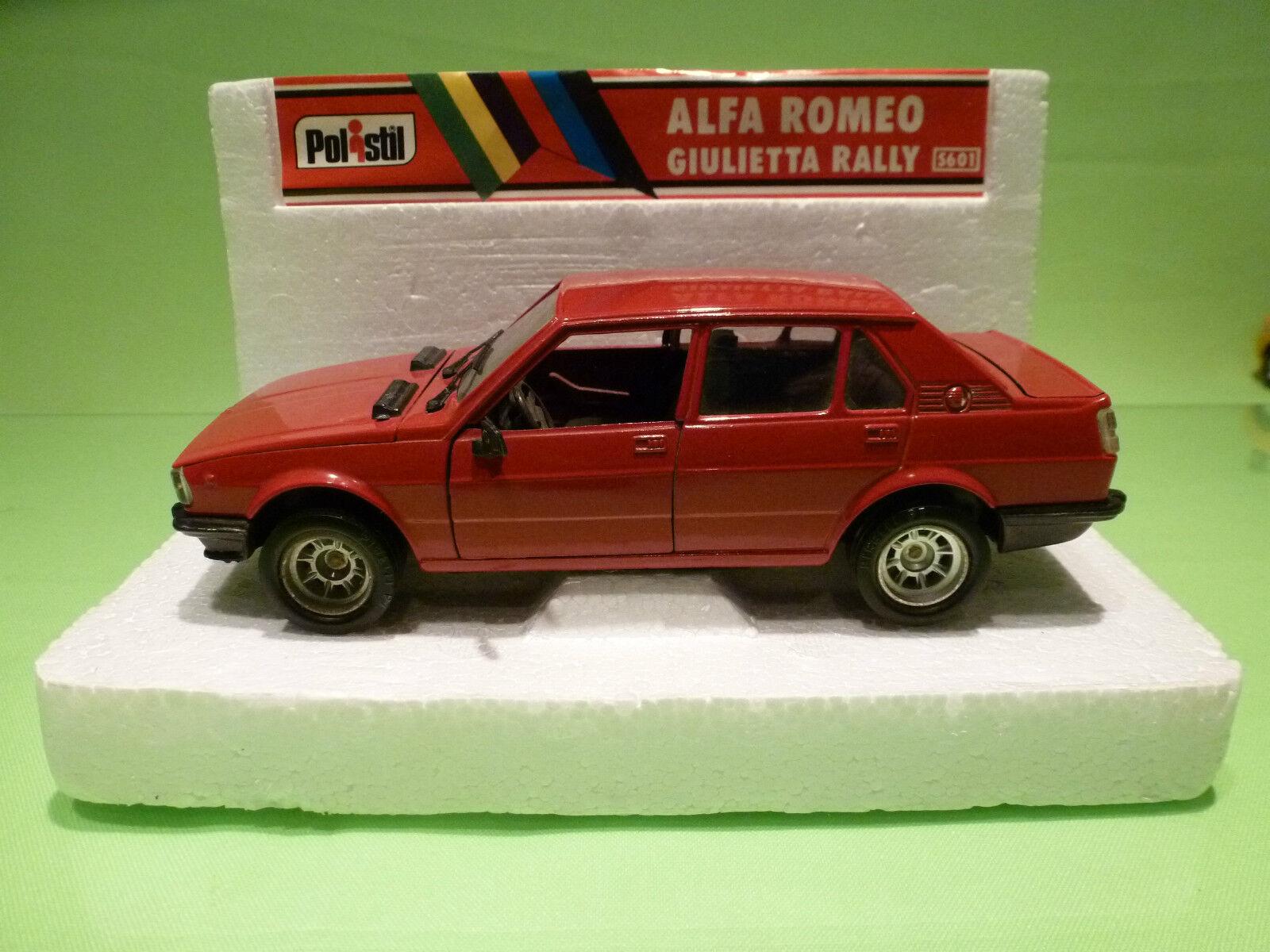 POLISTIL S601 ALFA ROMEO GIULIETTA  1 24 - RARE SELTEN - VERY GOOD CONDITION