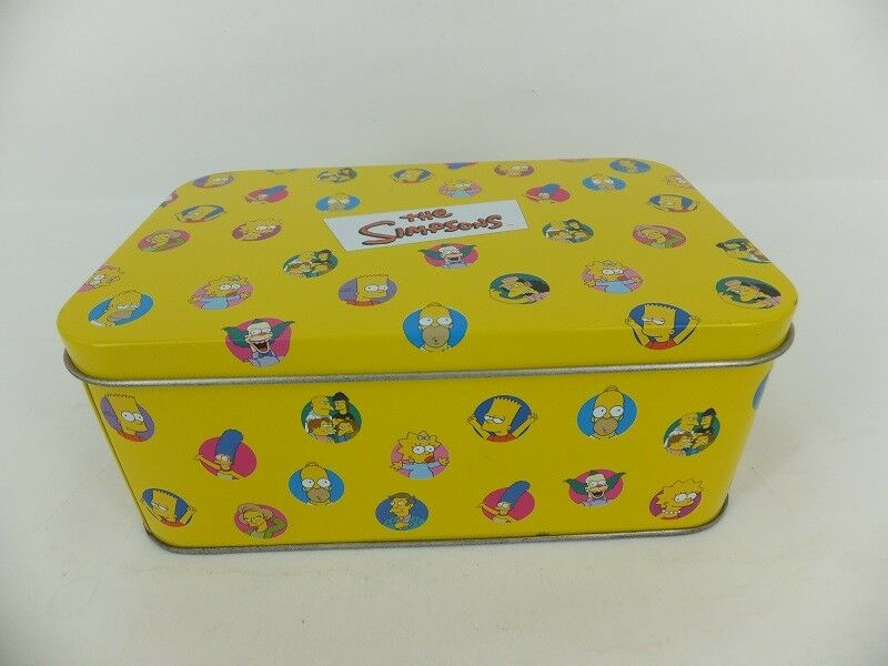 Collectible set of Simpsons marbles in tin