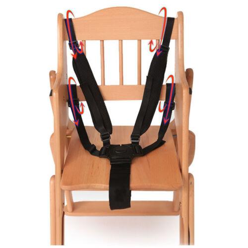 5 Point Harness Kids Baby Children Safe Belt Seat For Stroller High Chair Pra OJ