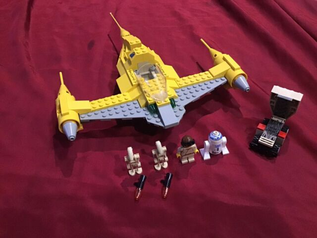 LEGO 7141 Star Wars Naboo Fighter Complete With Minifigures