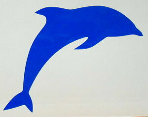 1,2,4,6,12 x dolphin tile, wall, window bathroom stickers