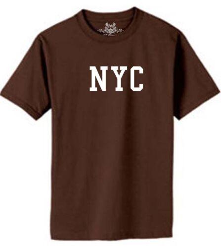 "NEW MEN/'S PRINTED /""NYC/"" NEW YORK CITY GRAPHIC DESIGN COTTON T-SHIRT"